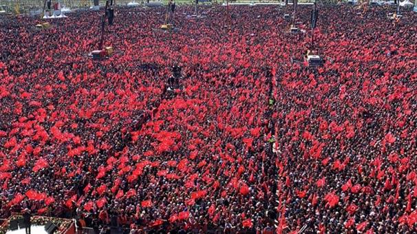 Yenikapı Mitingine kaç kişi katıldı? Cumhur İttifakı Büyük İstanbul Mitinginde kaç kişi var?