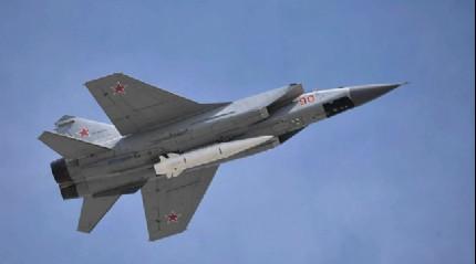 Rusya 20 adet Kinjal nükleer yetenekli hipersonik füzesini test etti