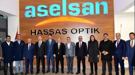 Sanayi ve Teknoloji Bakanı Varank ASELSAN Hassas Optik Üretim Tesisi'ni gezdi