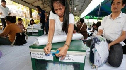 Tayland darbeden 5 yıl sonra genel seçime gitti