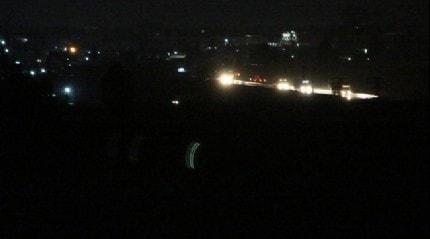 ABD konvoyunun Suriye'deki hareketliliği görüntülendi