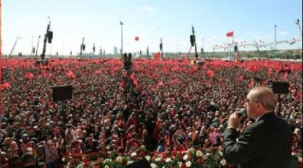 Cumhurbaşkanı Erdoğan, Cumhur İttifakı'nın Büyük İstanbul Mitingi'nin ardından paylaşımda bulundu