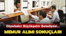 Son dakika - DBB memur alım sonuçları ne zaman? - Diyarbakır Büyükşehir Bld. memur alımı sonuçları