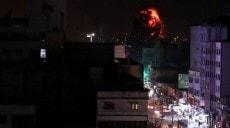 Son dakika - İsrail, Gazze'deki Hamas hedeflerini vuruyor